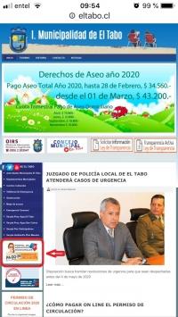 PÁGINA WEB I. M. DE EL TABO