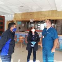 ALCALDE DE EL TABO VISITÓ RESIDENCIA SANITARIA EN EL QUISCO