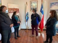 ALCALDE DESTACA MILLONARIO PROYECTO PARA BIBLIOTECAS DE EL TABO