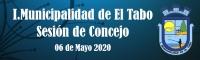 Sesión de Concejo del día 6 de Mayo del 2020.