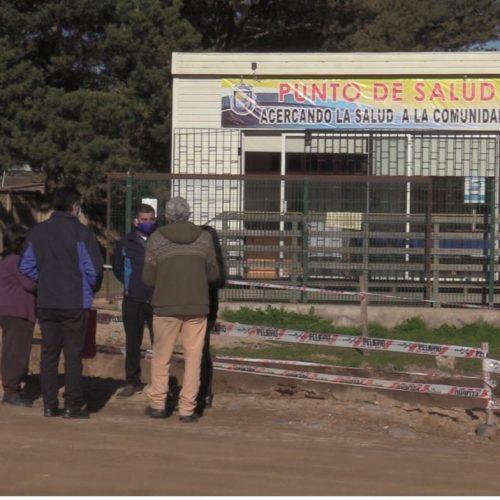 Alcalde de El Tabo realiza evaluación positiva al Punto de Salud que se instaló hace un mes en El Triángulo