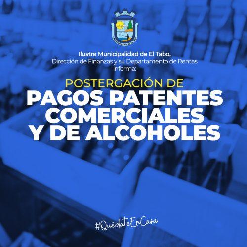 Patentes de alcoholes también recibirán beneficios tributarios