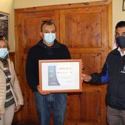Municipio agradeció servicio social de comerciante tabino Édison Fabián Cabrera Gutiérrez en medio de la pandemia