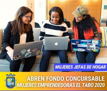 Fondo Concursable Mujeres Emprendedoras El Tabo – 2020