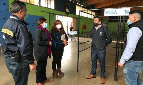 En El Tabo debuta nuevo local de votación para el plebiscito del apruebo o rechazo de este domingo