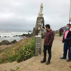 El Tabo prepara borde costero para recibir  a turistas en la próxima temporada estival