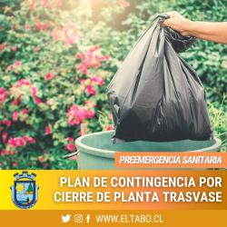 Municipalidad El Tabo aplica Plan de Contingencia en materias de recolección y compactación de basura domiciliaria