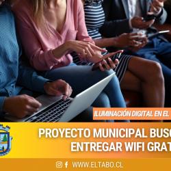 Municipalidad de El Tabo ofrecerá servicio gratuito de wifi para vecinos de la comuna