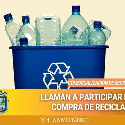 Convocatoria Licitación Comercialización Reciclaje