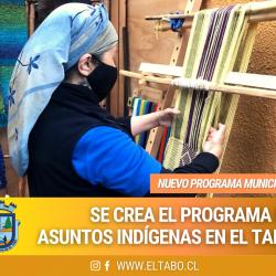 Municipio El Tabo crea programa de asuntos indígenas