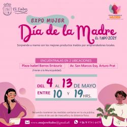 """Comienza Feria Expo Mujer:  """"Especial Día de la Madre"""" en El Tabo"""