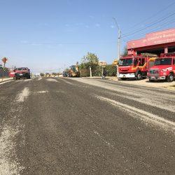 Calle Eduardo Romero de Las Cruces entra a su segunda etapa de faenas de riego asfáltico