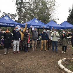En su primer día de regreso alcalde de El Tabo visitó piloto de Municipio en Terreno organizado por Secpla