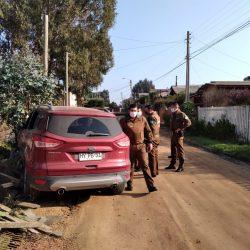 Dos vehículos fueron arrebatados a  sus dueños a punta de arma de fuego