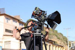 Cine chileno se tomó playa chica de Las Cruces