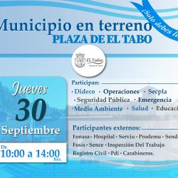 """Este jueves """"Municipio en Terreno"""" al servicio de la comunidad en la plaza El Tabo"""