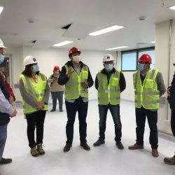 Alcalde Alfonso Muñoz visitó junto a Seremi de Salud las obras del nuevo Hospital Claudio Vicuña de San Antonio
