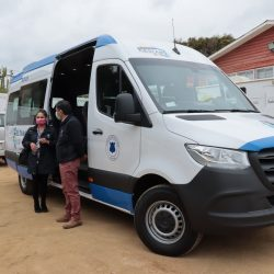 Nuevo vehículo de traslado de pacientes adquirió la Dirección de Salud del municipio de El Tabo